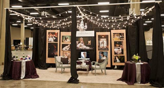 Gregory Byerline Photogragrapher Bridal Show Booth 2017 Love The Idea Of Chairs With End