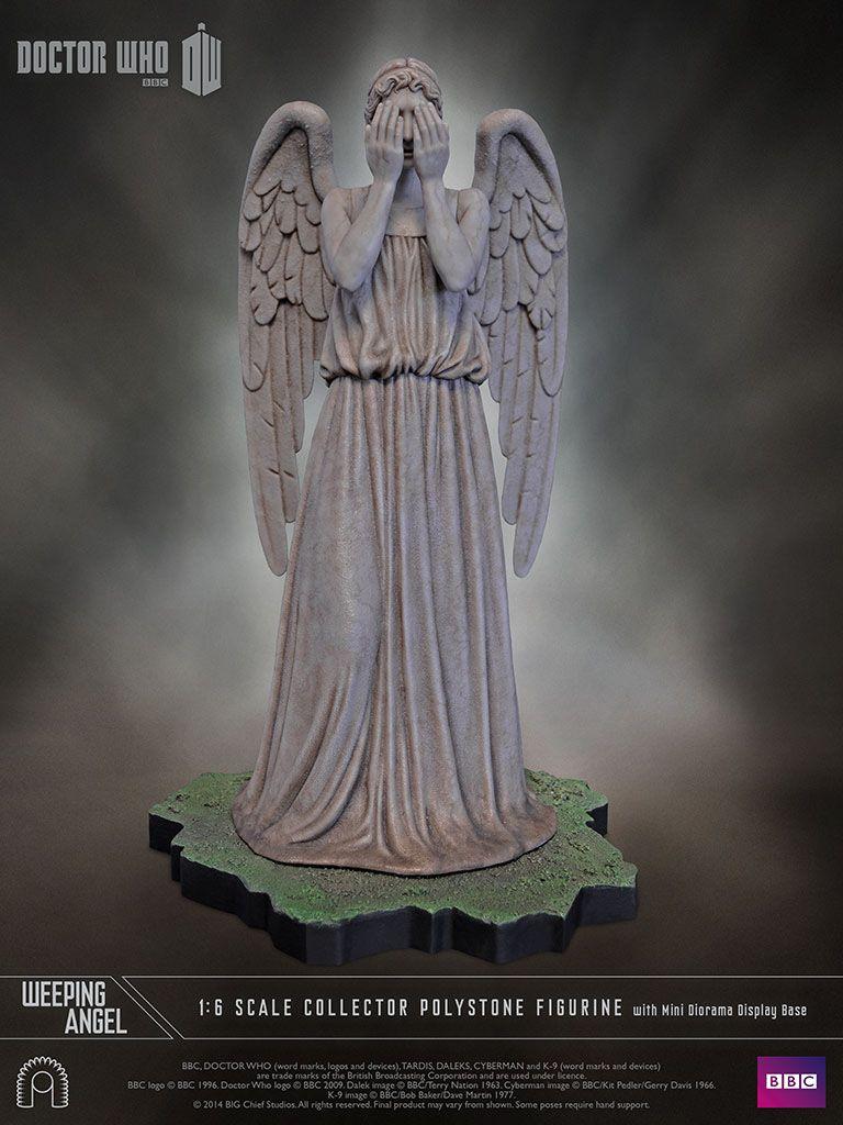 Doctor Who Les Anges Pleureurs : doctor, anges, pleureurs, Doctor, Statuette, Weeping, Angel, Chief, Studios, Pleureur,, D'écran