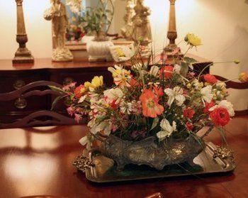 decoracion de mesas de comedor - Buscar con Google | CENTROS DE MESA ...
