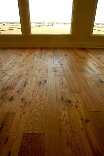 Reclaimed Antique Oak Hand Brushed Texture European Oil Finish