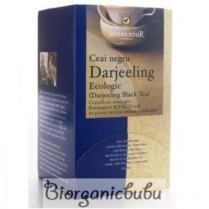 Ceai Negru Darjeeling ecologic, 20 pliculete