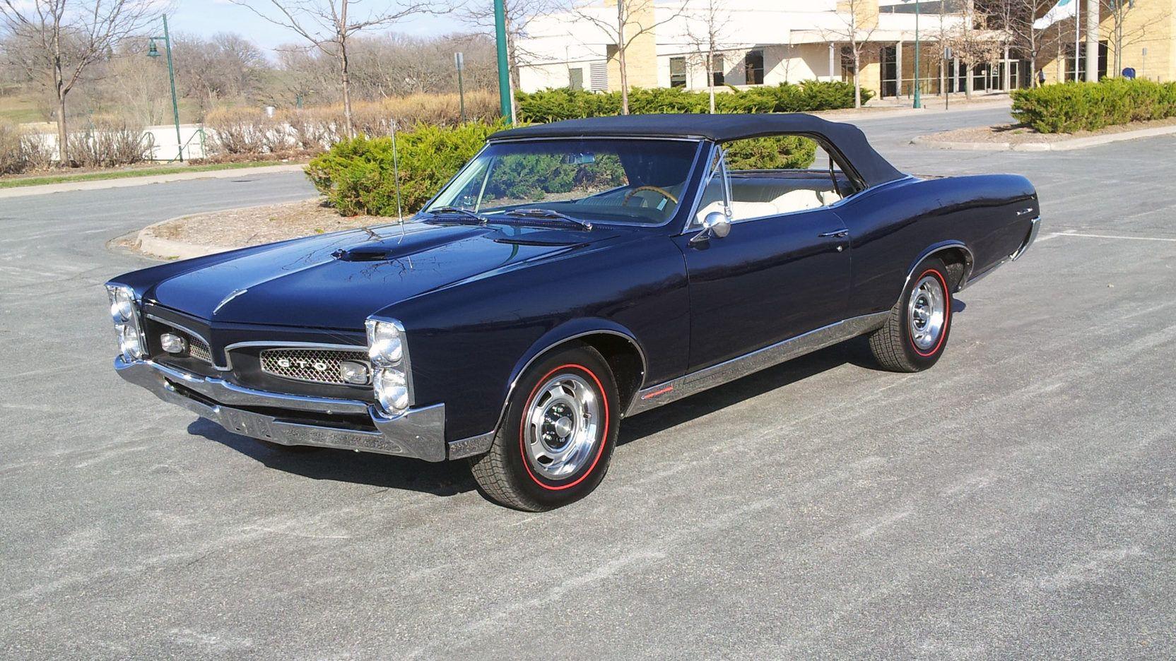 1967 Pontiac Gto Convertible Fathom Blue W Parchment Interior My Dream Car Pontiac Gto Gto Pontiac