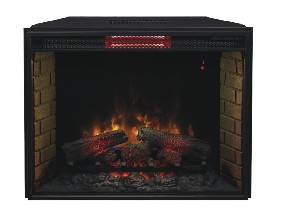 New Infrared Electric Fireplace Inserts From Classic Flame
