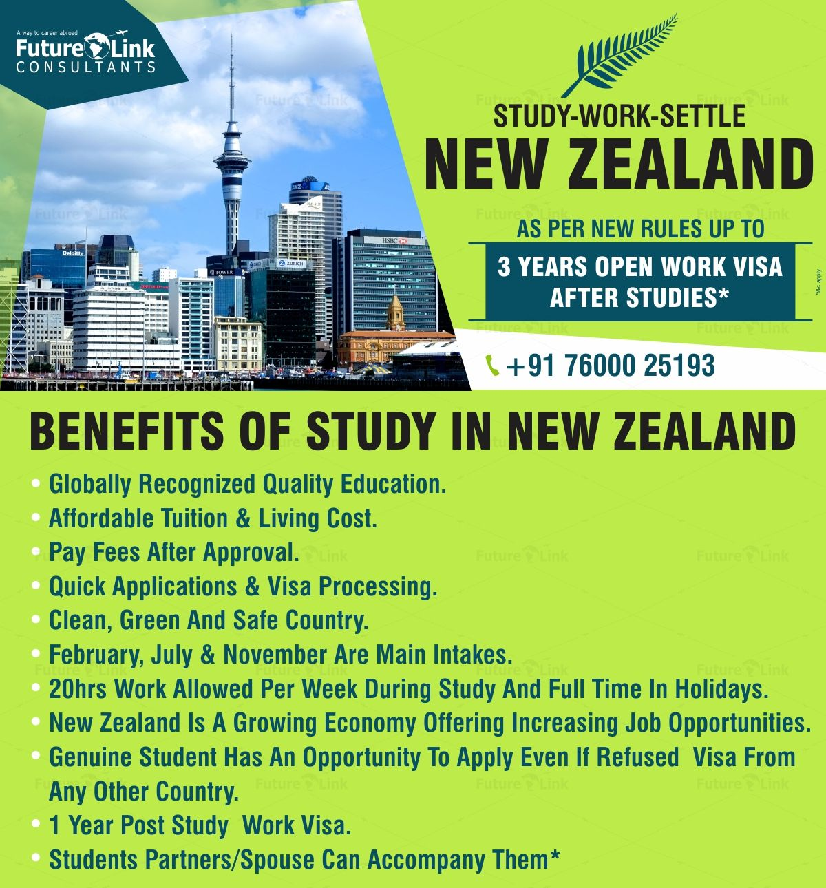 Study In New Zealand And Get An Opportunity To Have A Post Study