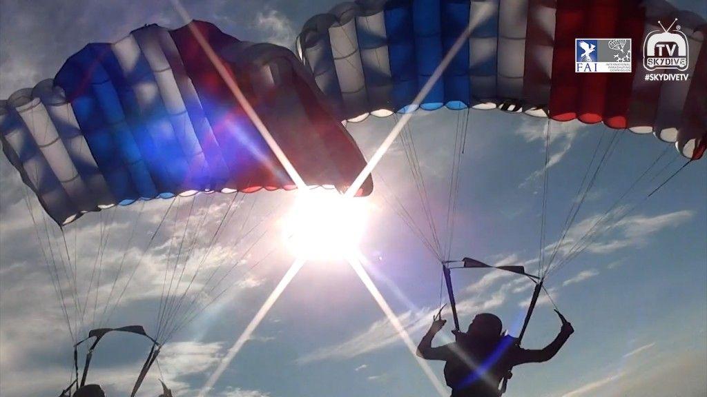 2 Way Sequential 2016 Fai World Parachuting Championships Mondial Skydiving World Parachute