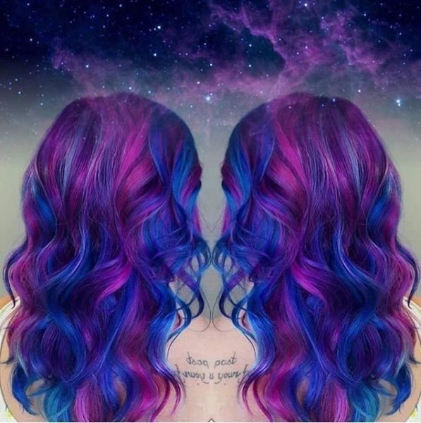 20 Minutes La Coloration Trendy S Inspire De La Galaxie