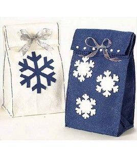 Snow Day Felt Gift Bags