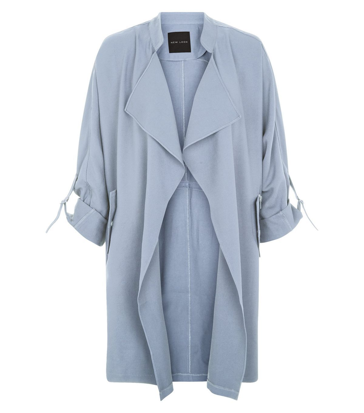 Pale Blue Waterfall Duster Coat | Dusters, Coats and Clothing