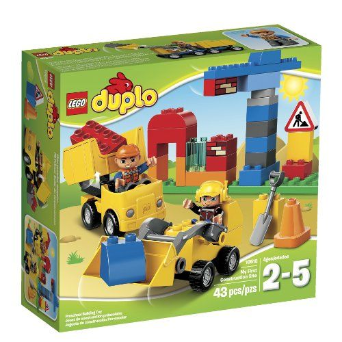 Lego Duplo Town 10518 My First Construction Site Building Set Toy