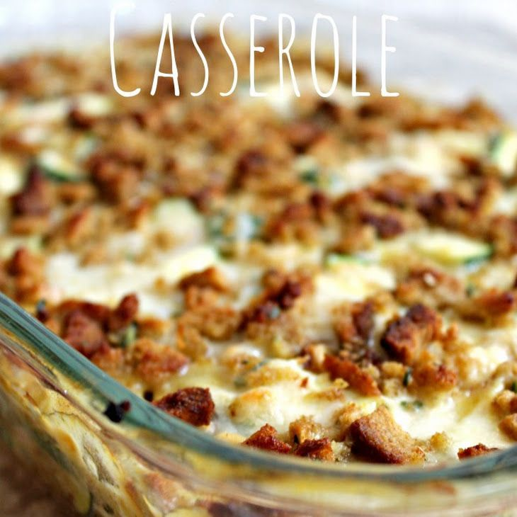 Chicken Zucchini Casserole Recipe Main Dishes With