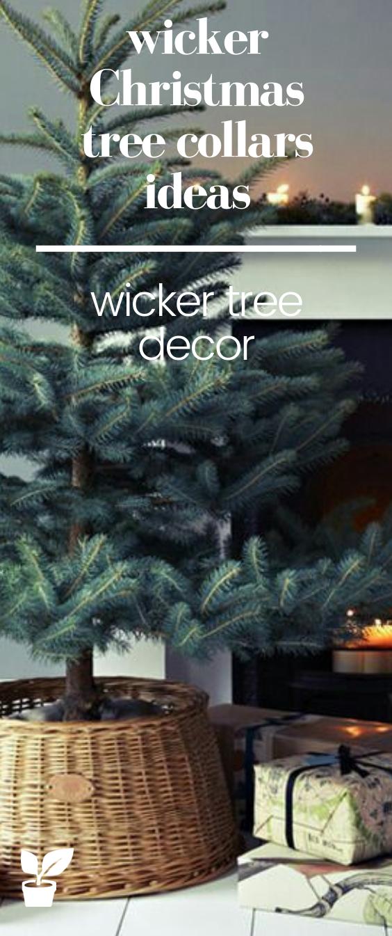 wicker Christmas Tree Collars Ideas you'll love! - irrigation supplies | Tree collar, Small ...