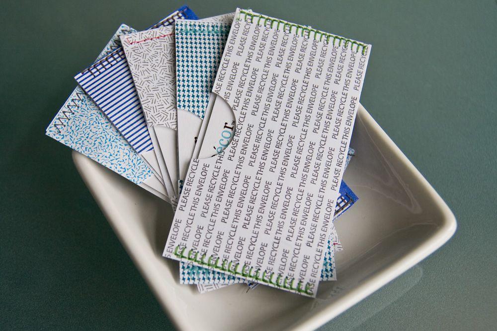 Envelopes Business Card Pattern Security Envelopes Handmade Envelopes