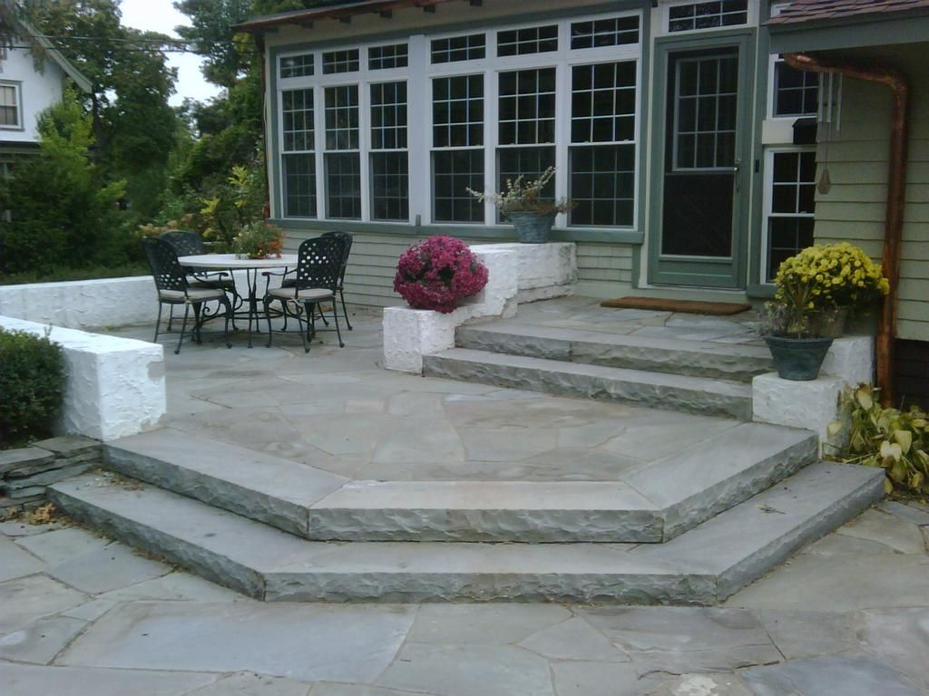 natural stone paito by natural creations landscape inc patio