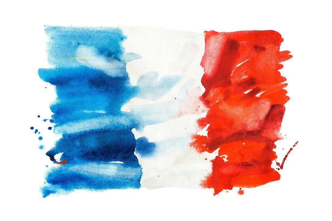 Flag Of France By Undrey On Creativemarket In 2020 France Flag Flag Drawing Flag