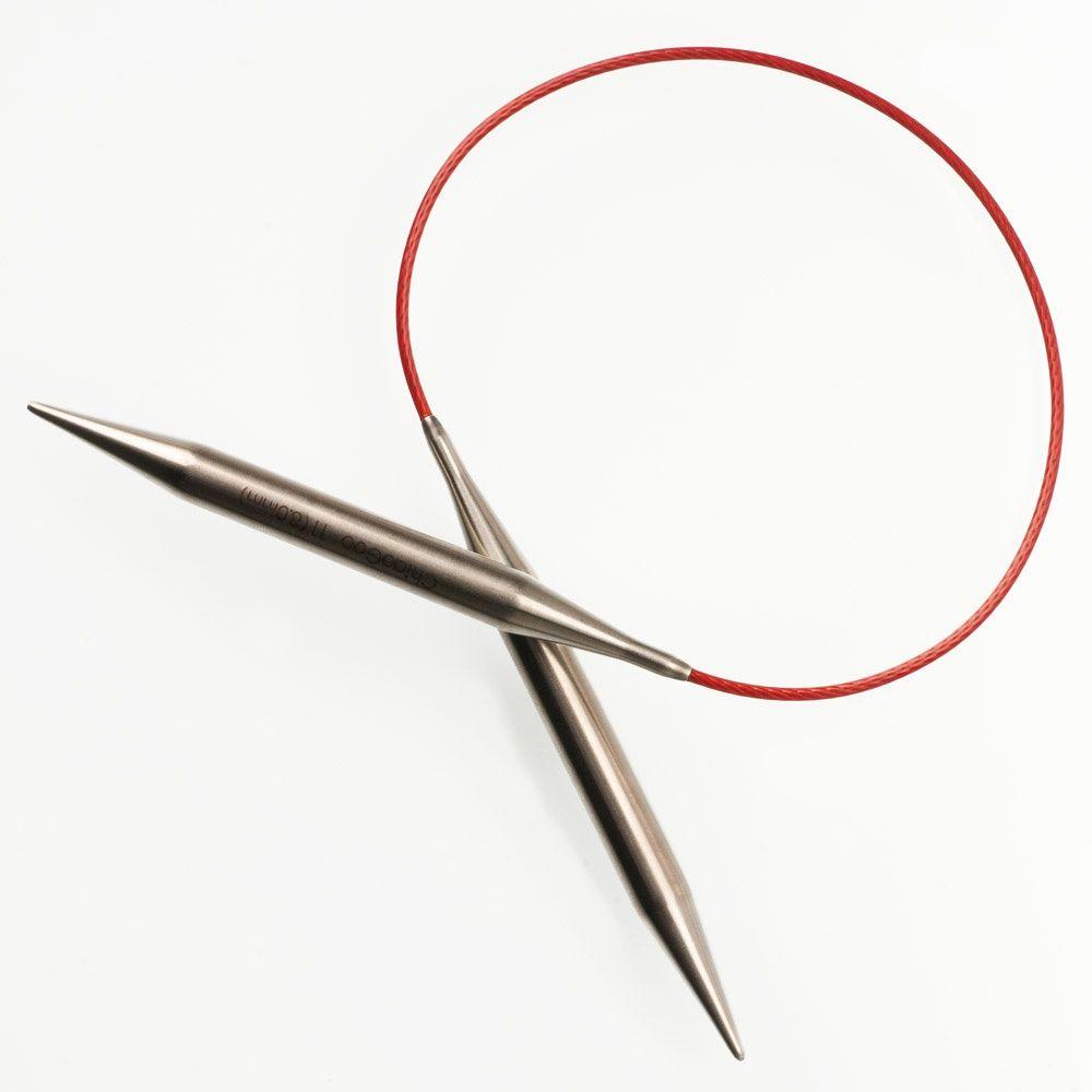 Chiaogoo Red Circular Knitting Needles 9-size 6//4mm