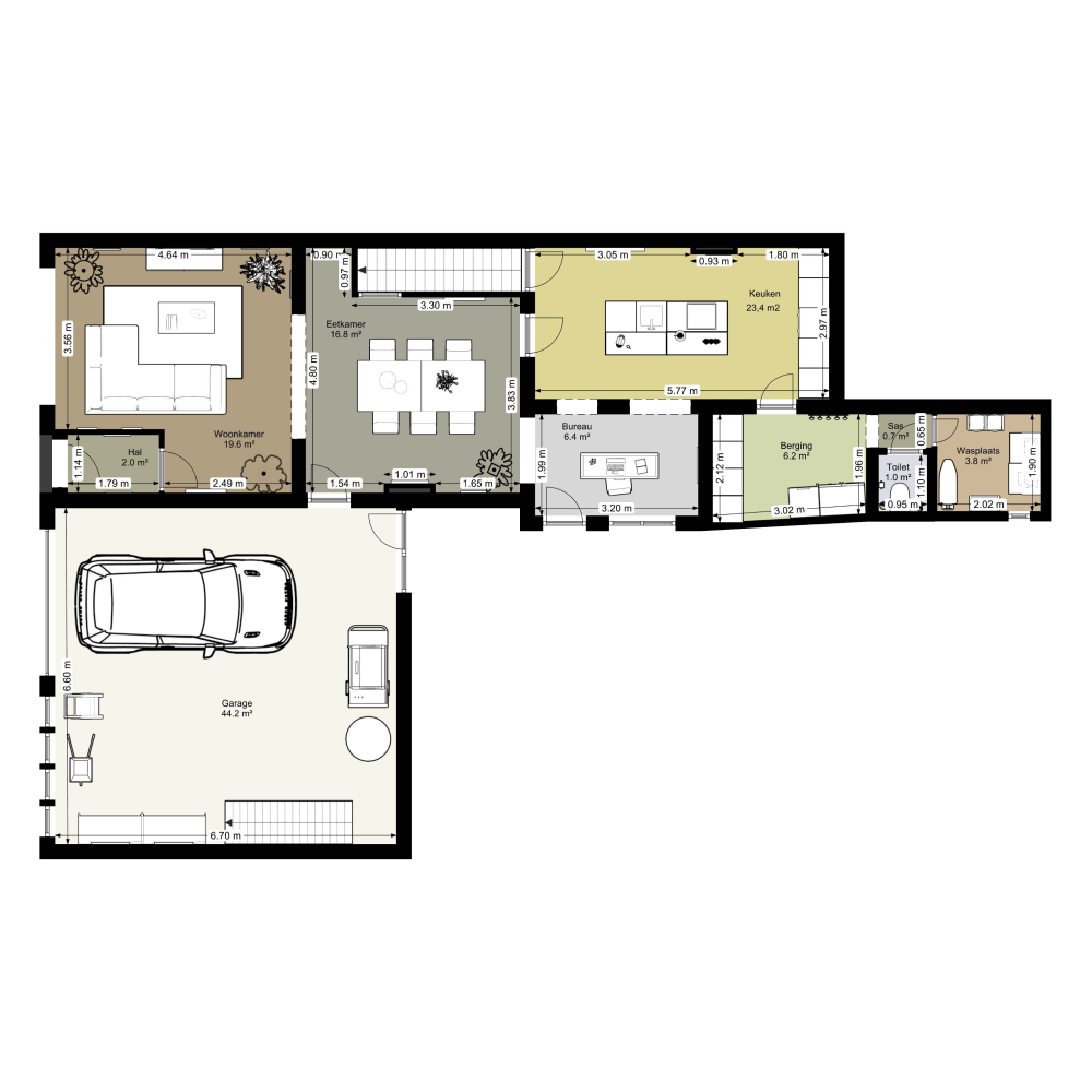 2d Plan Of A Tiny House Created With Floorplanner Com Floor Plans Create Floor Plan Office Space