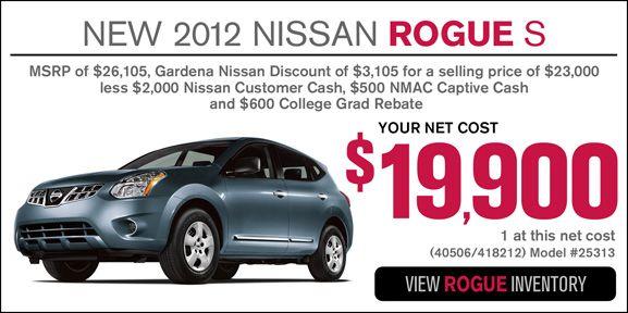 Gn 12rogues Jpg February 2013 Nissan 2012 Nissan Rogue Nissan Rogue S
