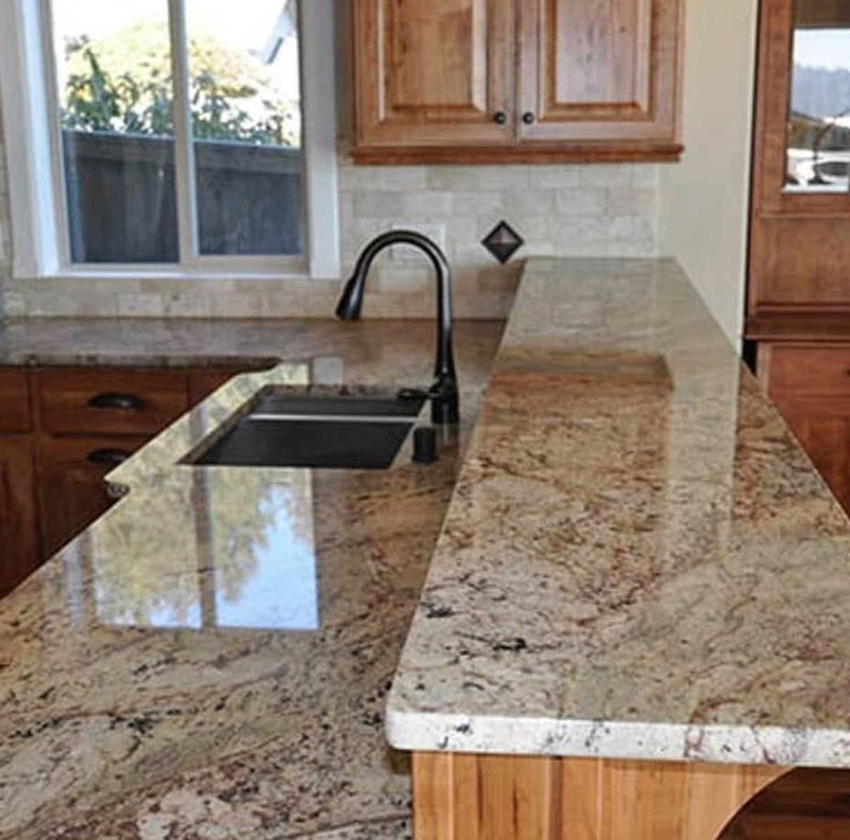 Amazing Work Thank You For Sharing This With Us U Granites Cabinets More This Cab Countertops Outdoor Kitchen Countertops Solid Surface Countertops Kitchen