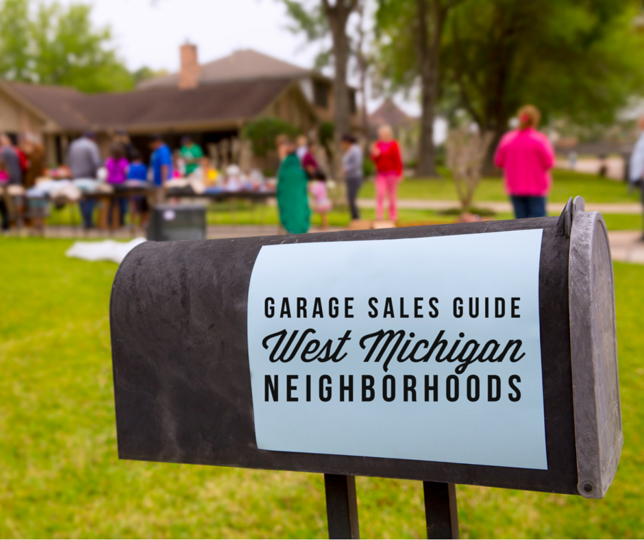 Greater Grand Rapids Garage Sale Guide 2020 Garage Sale Tips