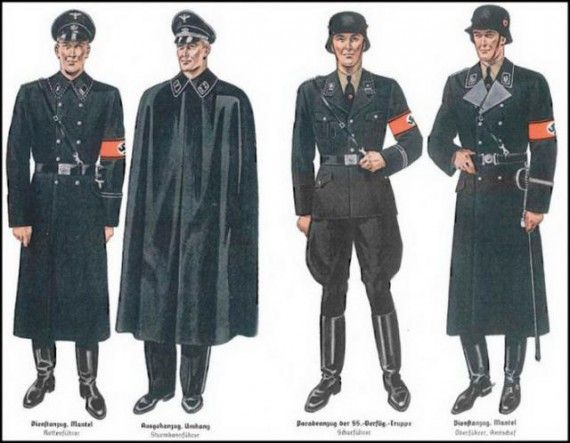 sicherheitspolizei (Gestapo) uniform