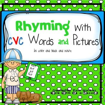 Hearing, saying, and identifying rhyming words; and then identifying words that…