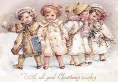 546828f29f56e15f4703f083612fa06c.jpg Christmas Cards, Vintage Christmas, Pink Christmas, Christmas Greeting, Christmaschristma Decor, Victorian Christmas, Christmas Graphics, Christmas Prints, Vintage Cards