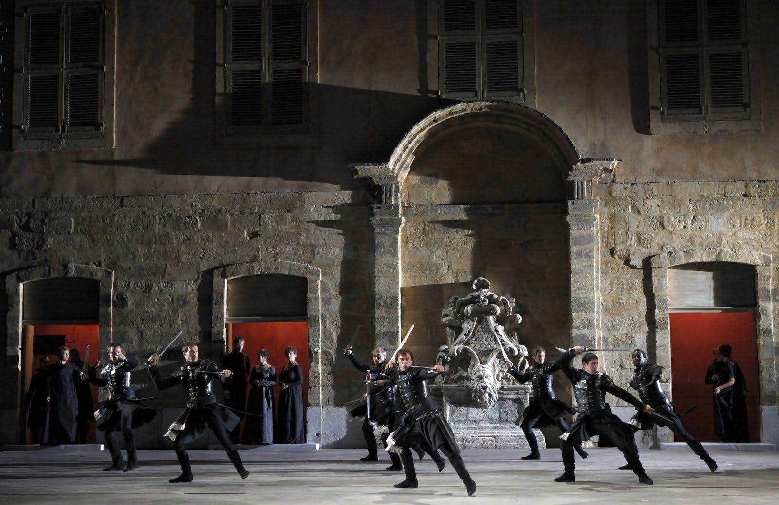 La Clemenza di Tito from Festival d'Aix-en-Provence. Production and sets by David McVicar.