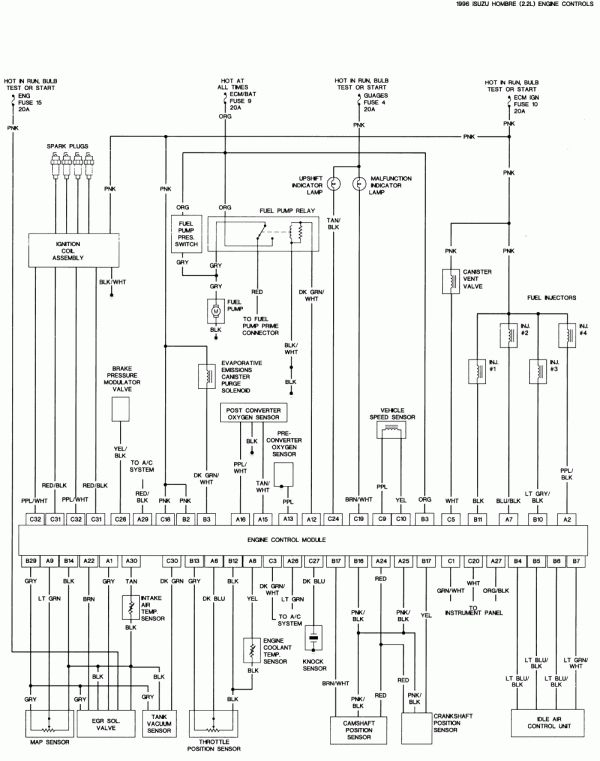 1996 Ford F150 Engine Wiring Diagram And Repair Guides