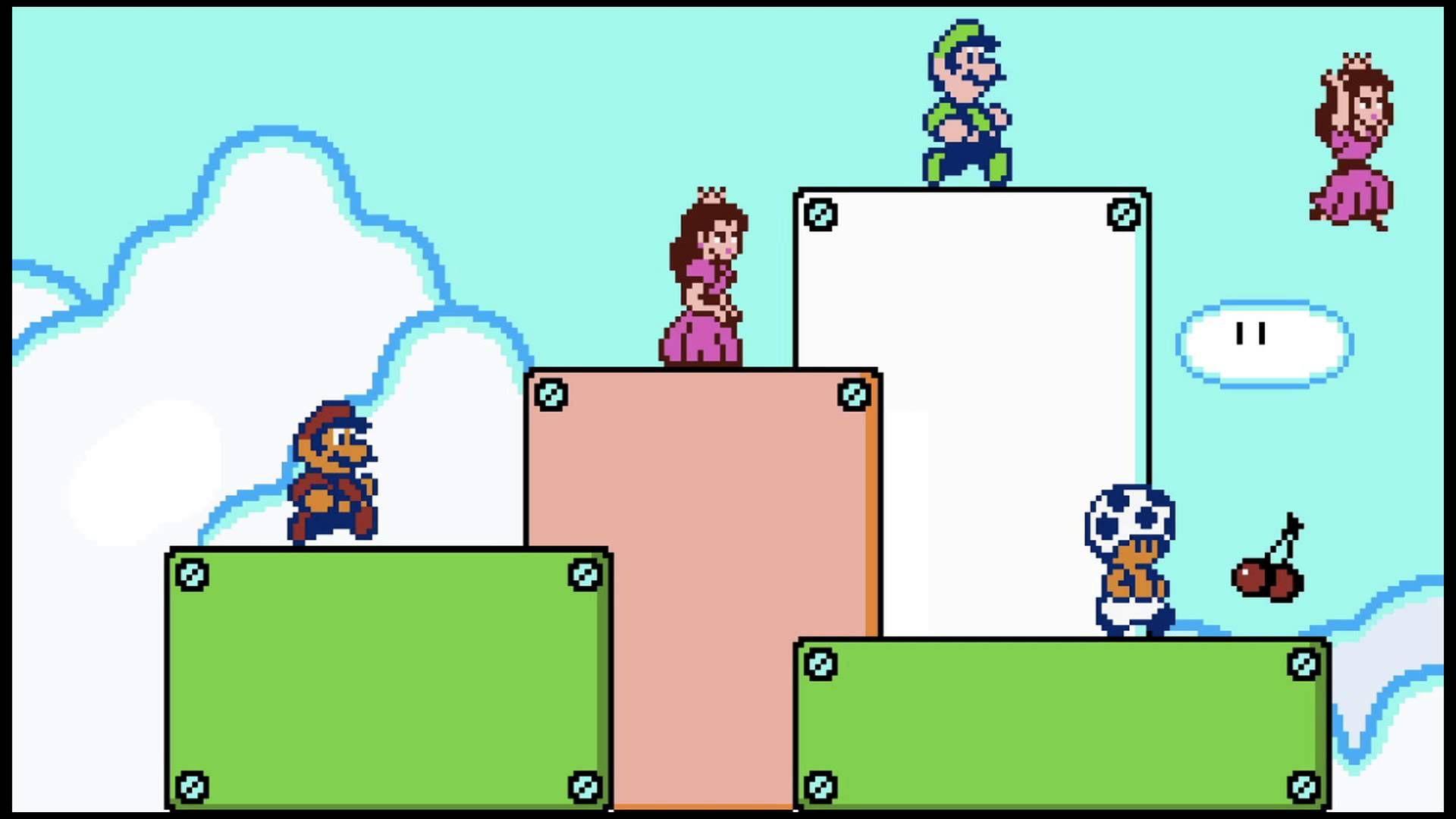 Super Mario 3D World Athletic Theme 8 Bit   Let's get the