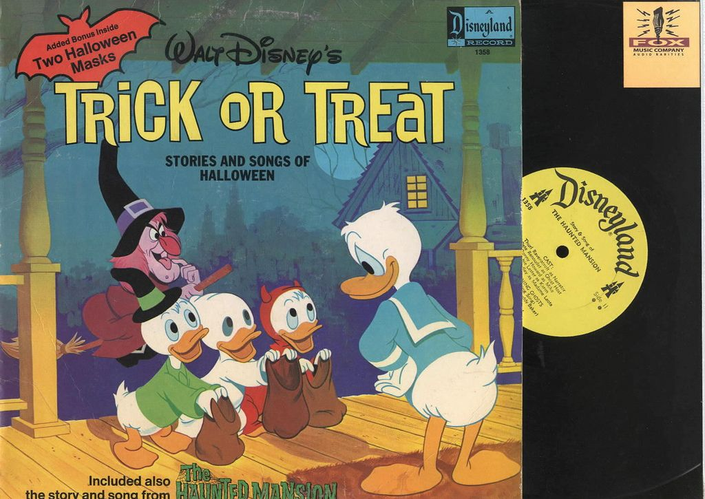 "Donald Duck ""TrickorTreat"" Stories and Songs of"