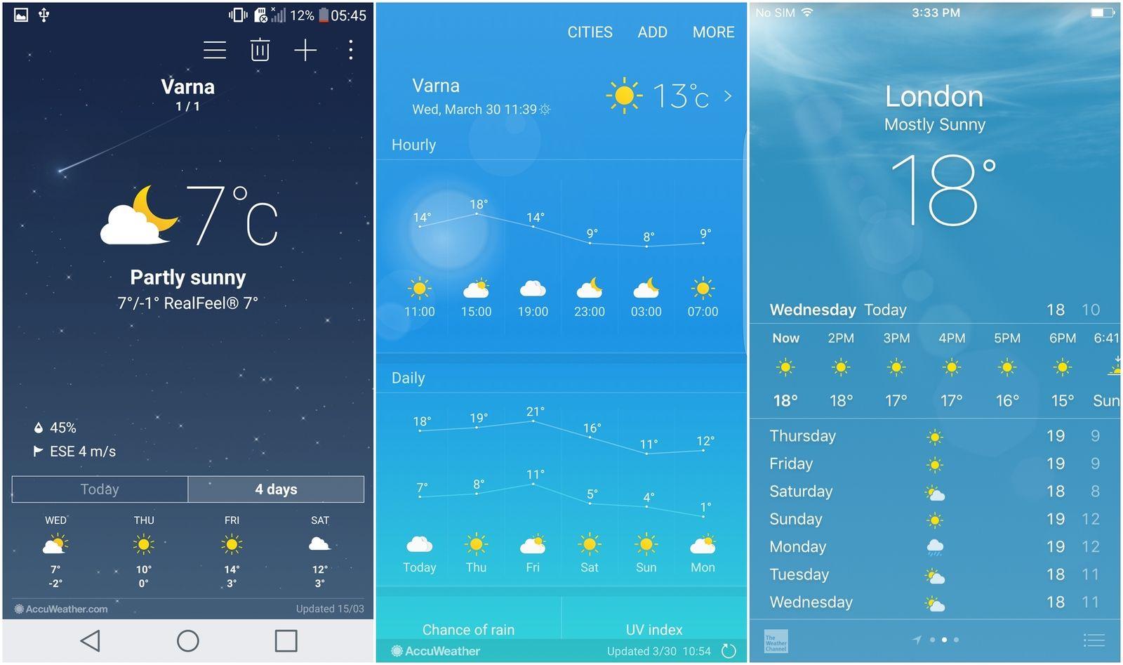 LG G5 (LG UX) vs Samsung Galaxy S7 (TouchWiz) vs Apple