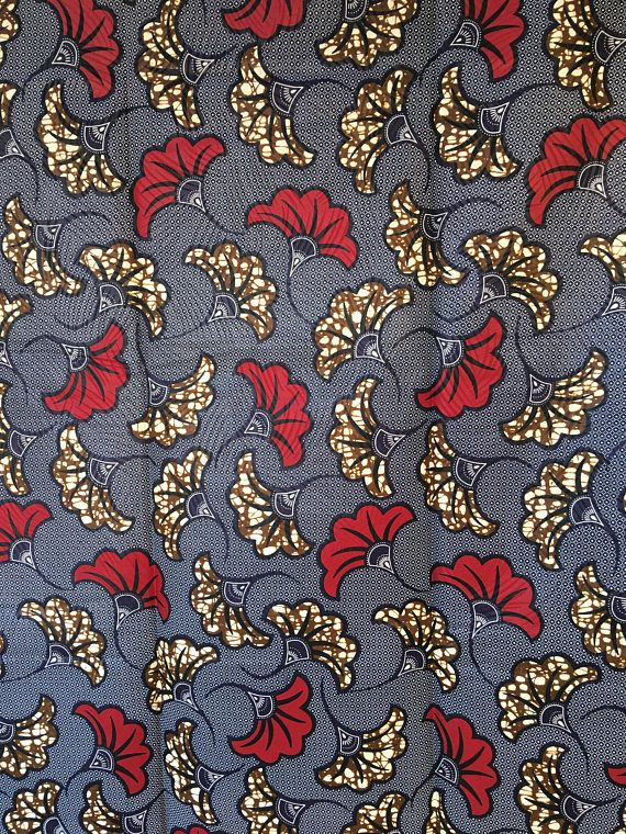 Veritable Tissu Wax Pagne Fleurs De Mariage Tissus Pinterest