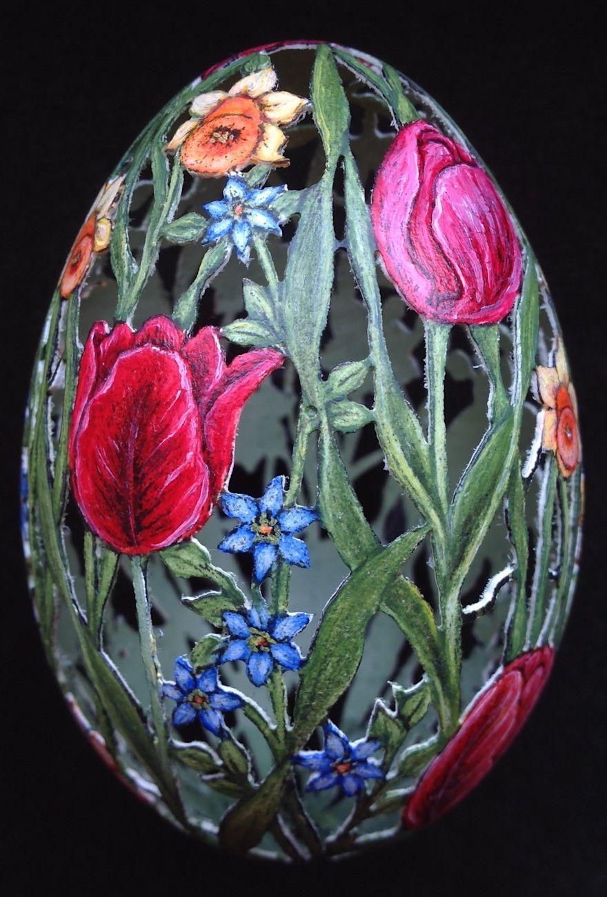 Kunstvolle Ostereier