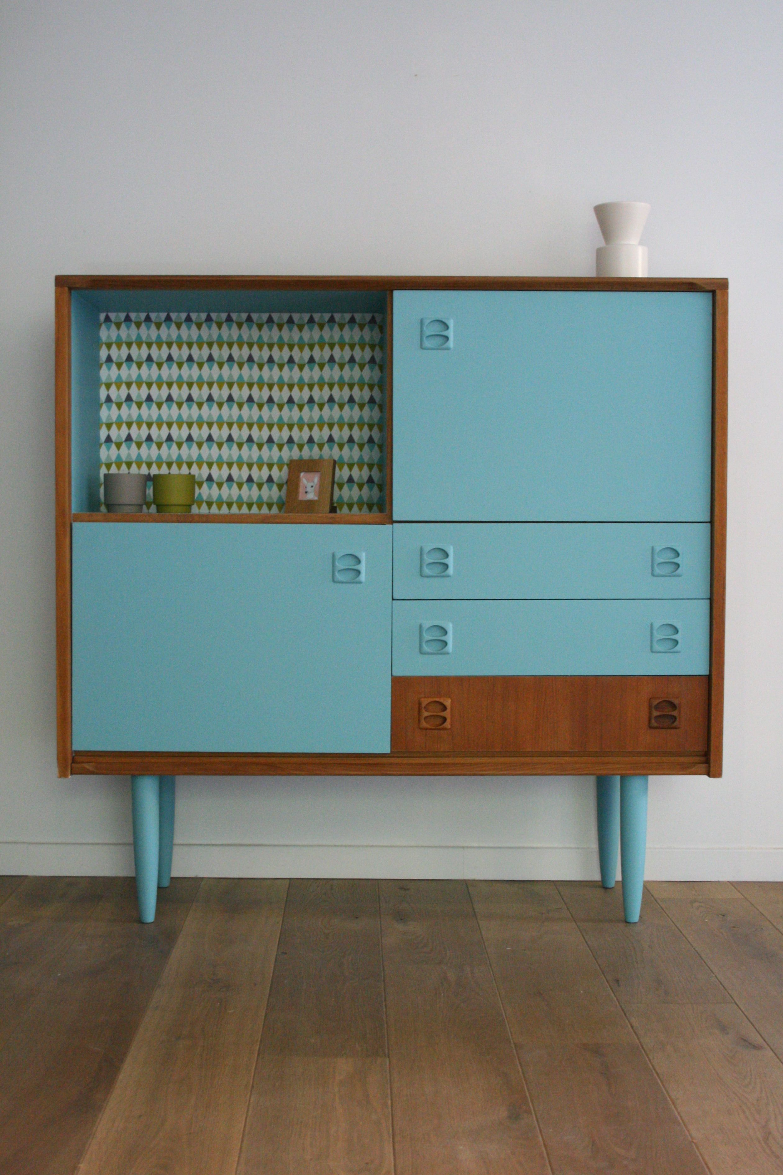 Restauration Meuble Antique Cute Mid Century Painted Cabinet Looks Like An Up Cycle