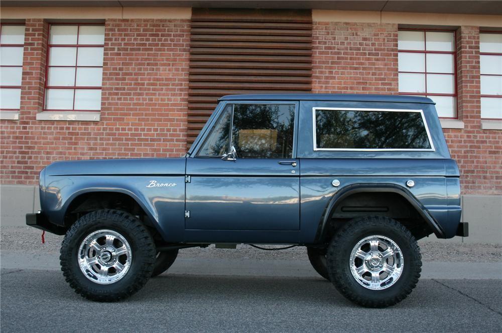 1966 Ford Bronco Custom Suv 139019 Barrett Jackson Auction