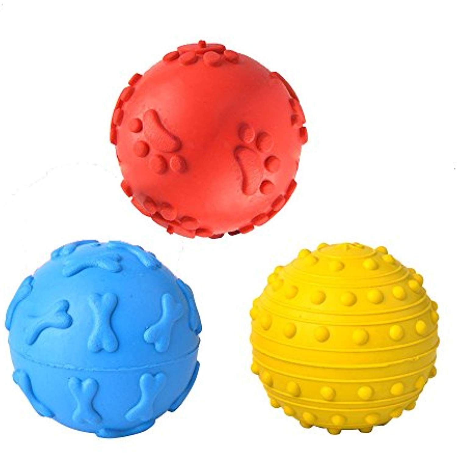 Squeaky Balls For Small Dogs 3 Pack By Bflife Be Sure To