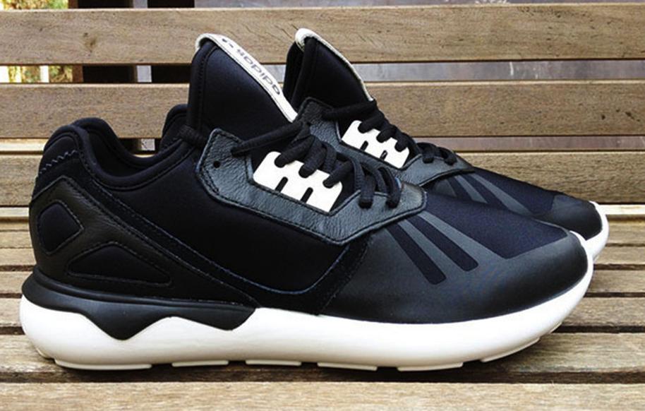 0d9d495448b00e Adidas Original Tubular Runner Black White B41272  174