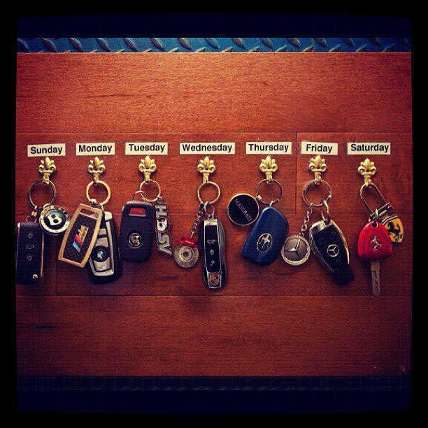 Underground Racing Ferrari Lamborghini BMW Mercedes Maserati - Sports cars keys