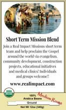 Blends | Kingdom Blend  Buy coffee that supports our ministry as well as helps local farmers in Honduras!