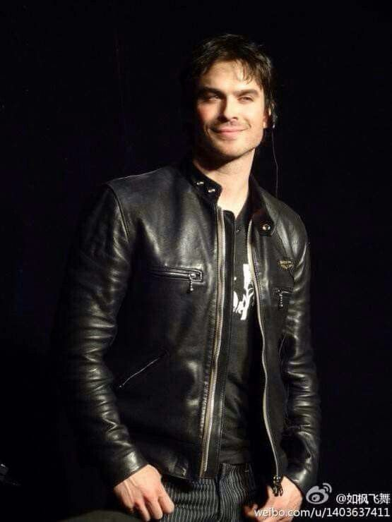 Oh Ian! That grin!