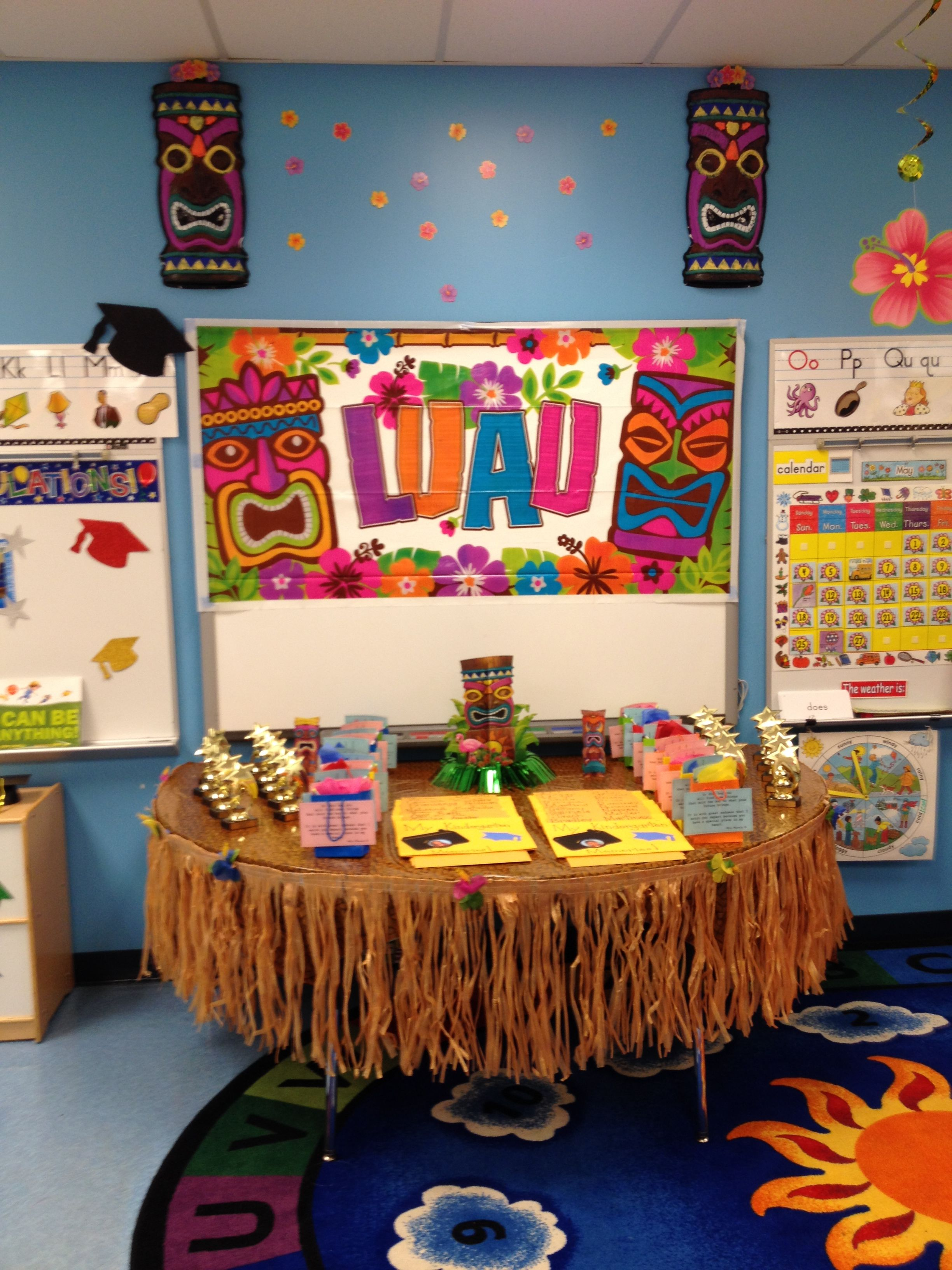 Classroom Luau Ideas : Quot luau end of the year celebration classroom ideas