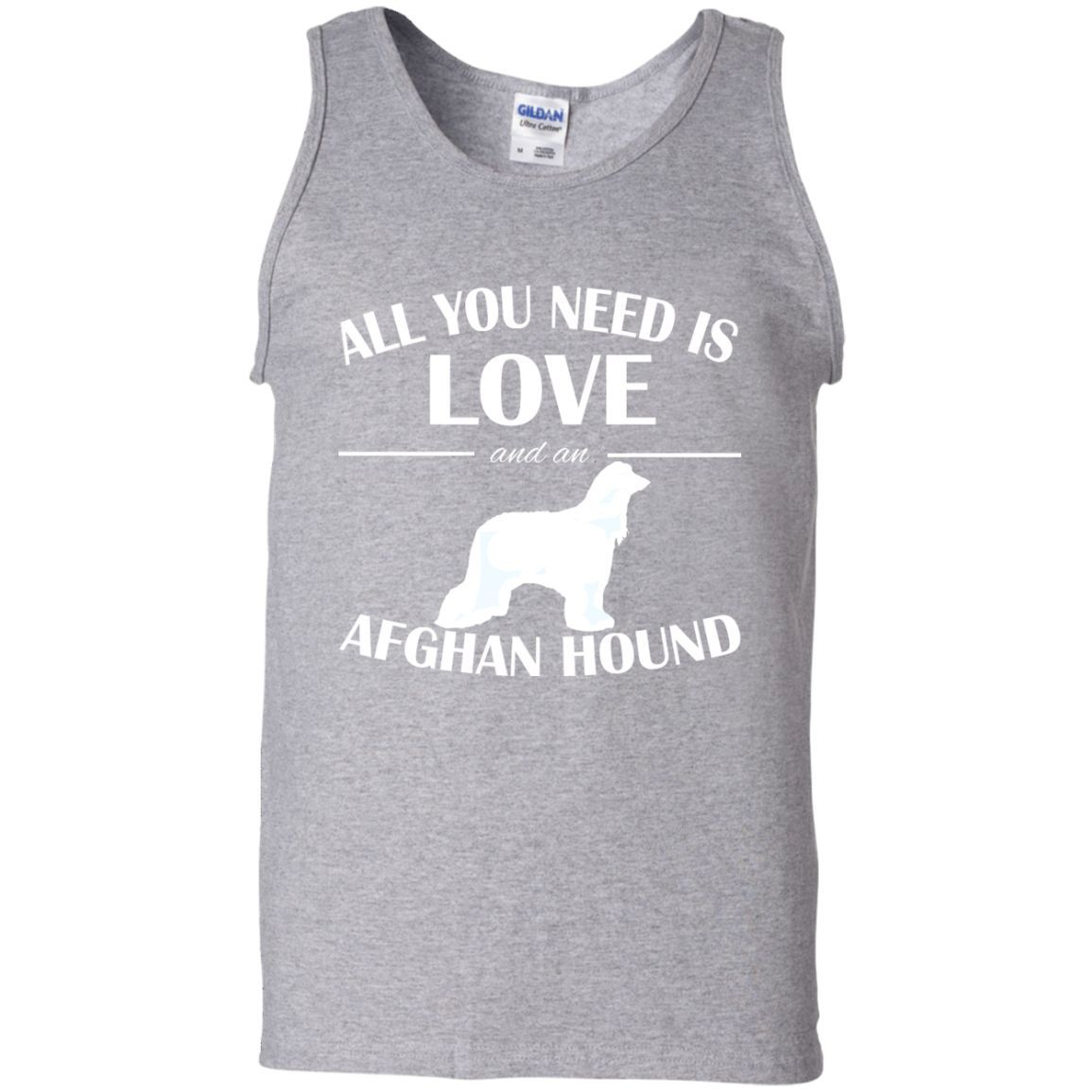 All You Need Is Love And An Afghan Hound Tanks