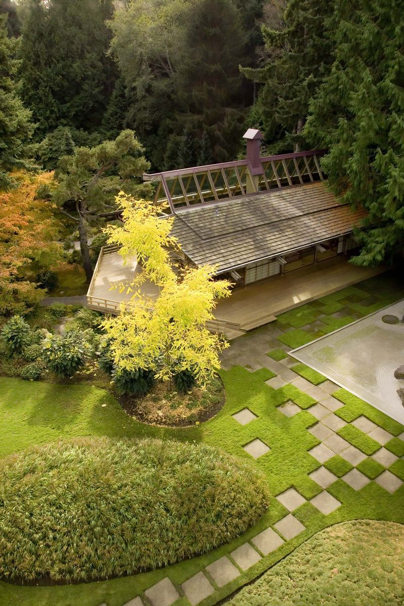 Japanese Guesthouse at Bloedel Reserve, Bainbridge Island