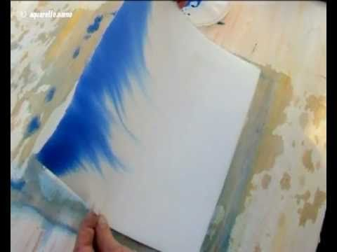 L Aquarelle Enseigne Aux Debutants Les Videos Illustrent Les