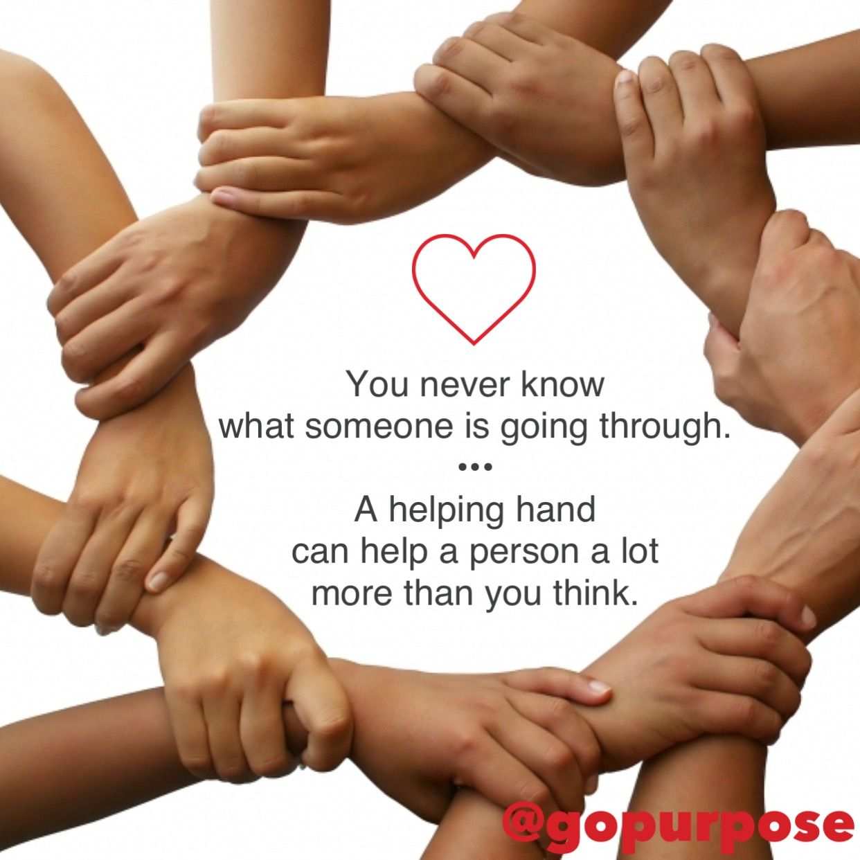 Lending a helping hand and funding with purpose are similar. The outcome of  a good deed or donation can change someon… | Helping hands, Create  awareness, Supportive