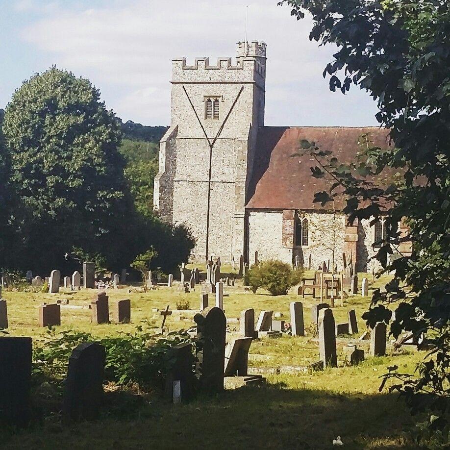 Churchyard, Farningham, Kent, UK