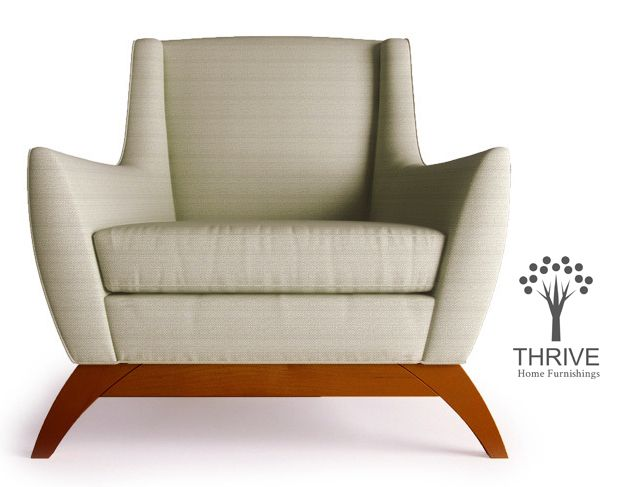 Coolridge Chair in Expectation Grey - $899.00
