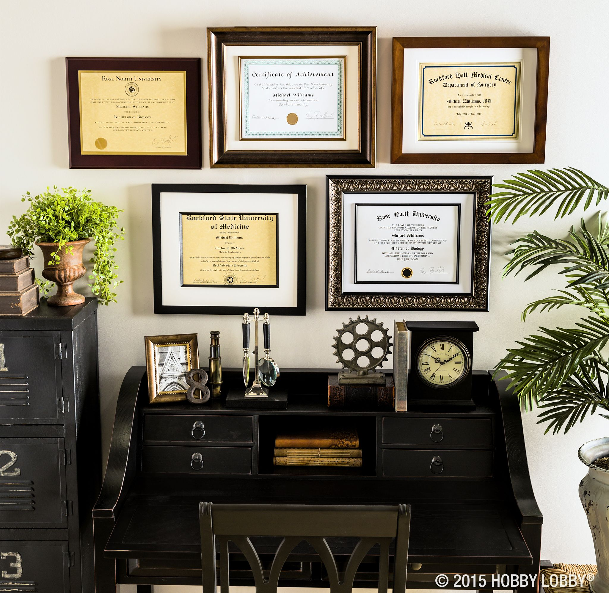6 Ideas On How To Display Your Home Accessories: Celebrate Your Accomplishments By Framing Your Diploma For