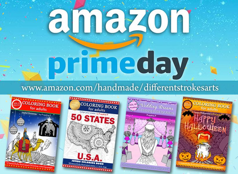 Prime day Big fat discount on adult coloring books! Spiral bound ...