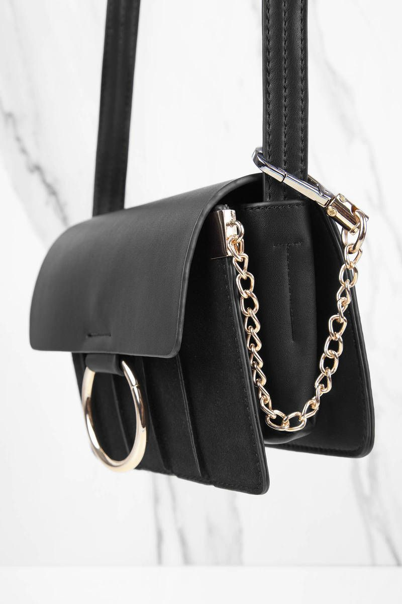7dc776658b Ring Leader Black Crossbody Bag
